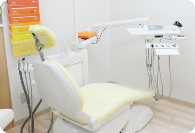 清瀬 さくらんぼ歯科のユニット