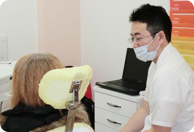 清瀬さくらんぼ歯科の初診の患者さまへ